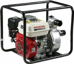 Honda WH20 Water Pump in Carry Frame WH20